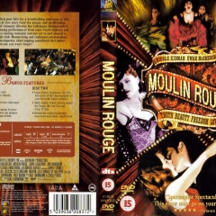 Moulin Rouge (2001, Movie) DVD Cover